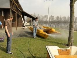 Segelplatzherrichten 2012